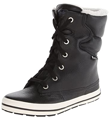 Amazon.com | Keds Women's Droplet Leather Snow Boot | Snow Boots