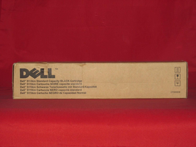 Original Dell 310-7890 Black Toner Cartridge for 5110cn Color Laser Printer