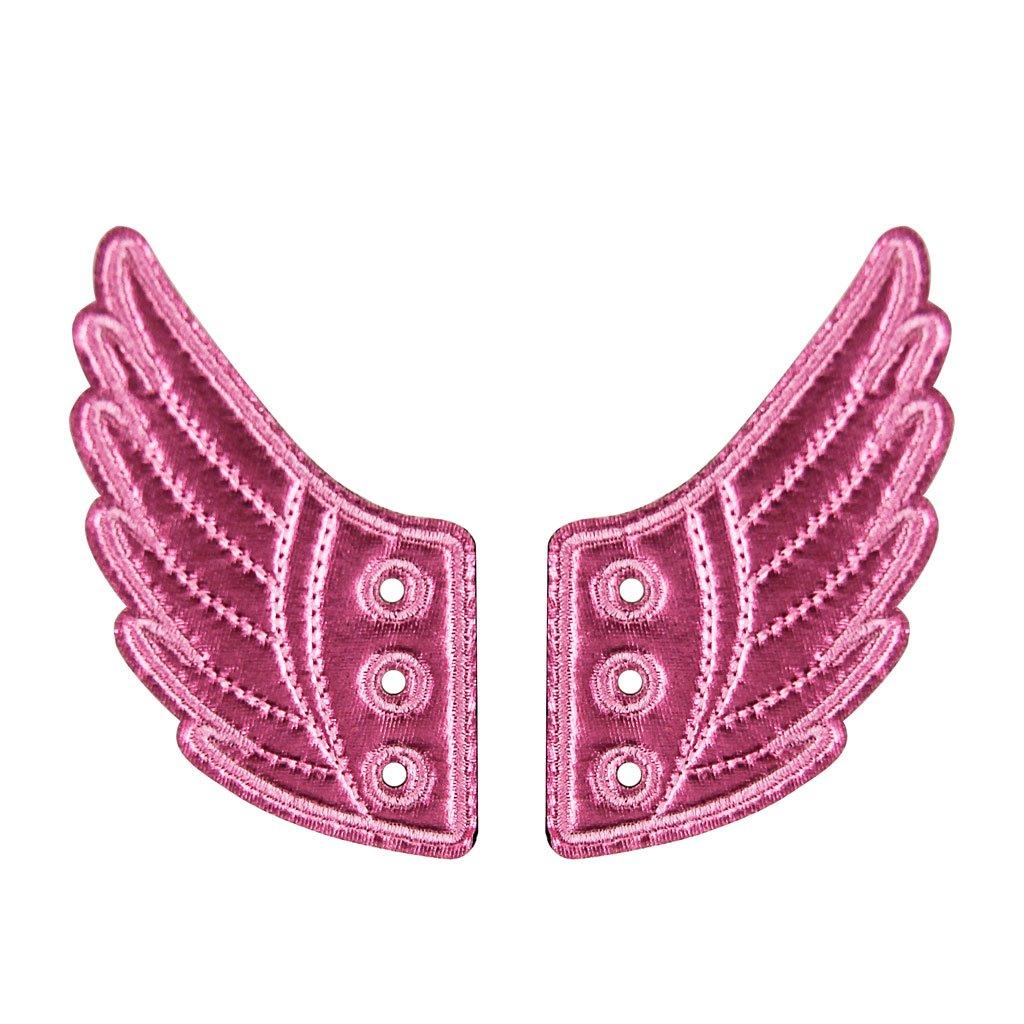 靴翼accessory-yuqi靴Decorations for Kids Dailyスタイルアクセサリー B075GKBQLL ピンク ピンク