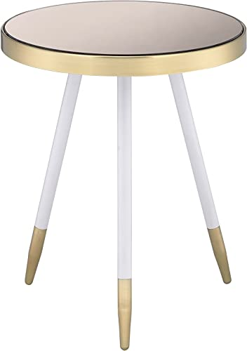 Best rustic end table: ACME Furniture 84466 Mazon End Table