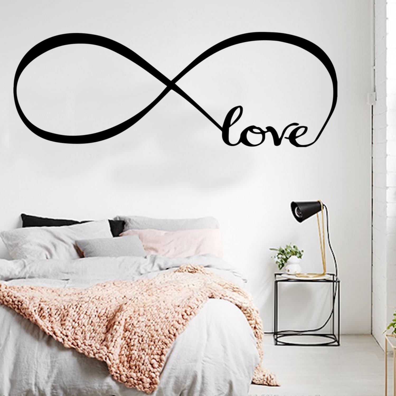 Amazon.com: Love Infinity - Wall Art Decal - 22\