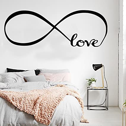 Amazon Com Love Infinity Wall Art Decal 22 X 61 Decoration