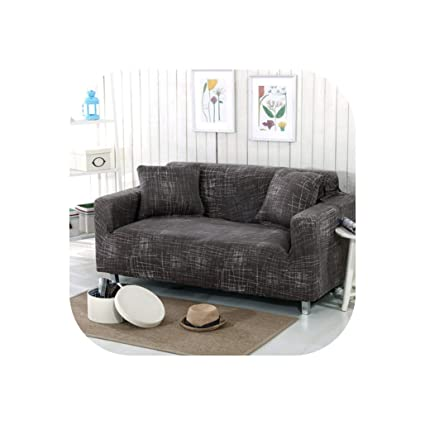 Amazon.com: Beautiful Lies Elastic Sofa Cover Tight Wrap All ...