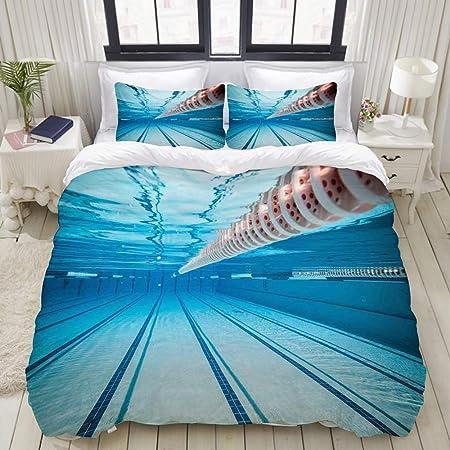 Freudenhaus Parure de lit Motif piscine 135/x/200/cm