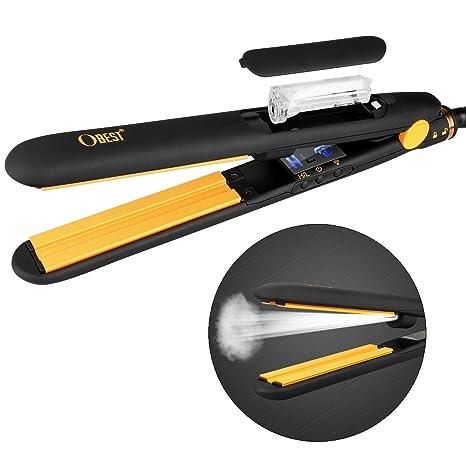 HUAJUN Plancha de vapor para cabello 4b142e6c6175