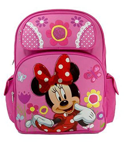 Minnie Mouse Backpack - Minnie Mouse School Bag  Amazon.co.uk  Shoes   Bags cce69b493a058