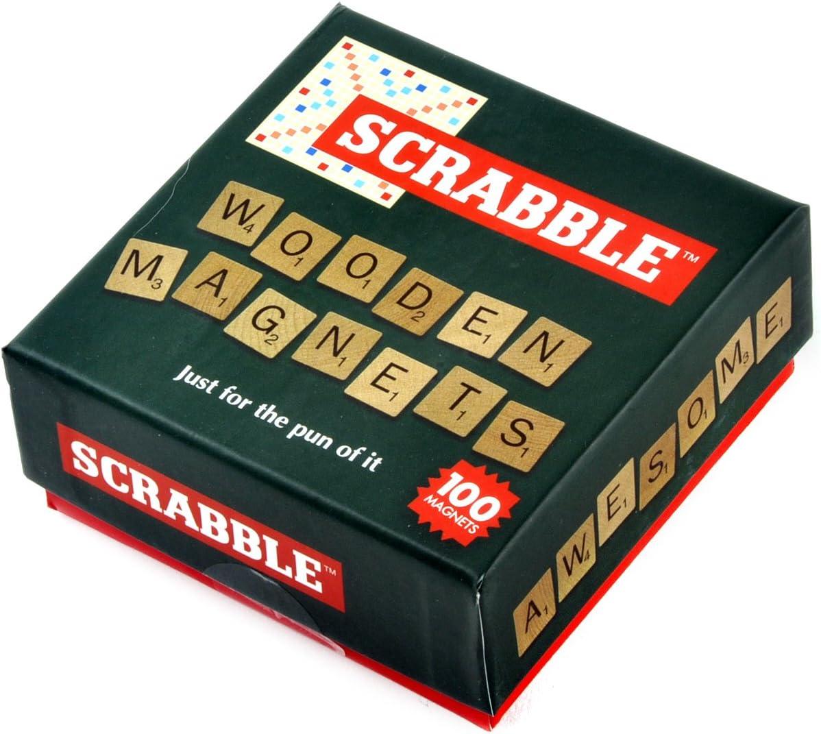 Scrabble de Madera imán Set, Madera: Amazon.es: Hogar