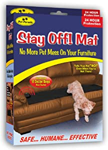 Pet Parade Sonic Repellent Stay Off MAT for Dogs and Cats
