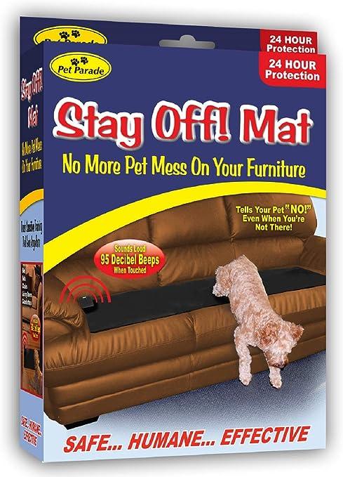 Amazon Com Pet Parade Stay Off Mat Indoor Pet Training Sonic