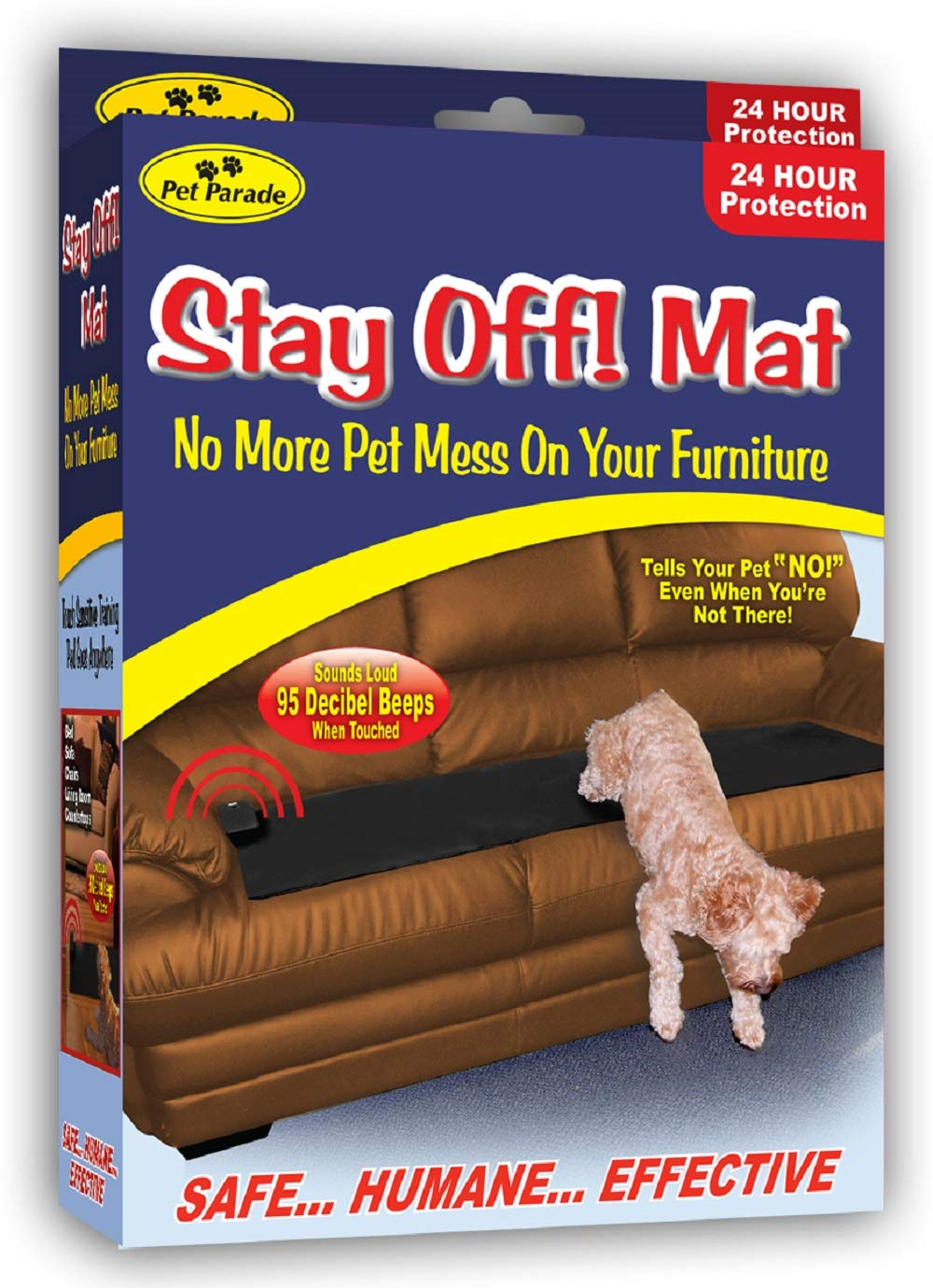 Pet Parade Sonic Repellent Stay Off MAT for Dogs and Cats by Pet Parade