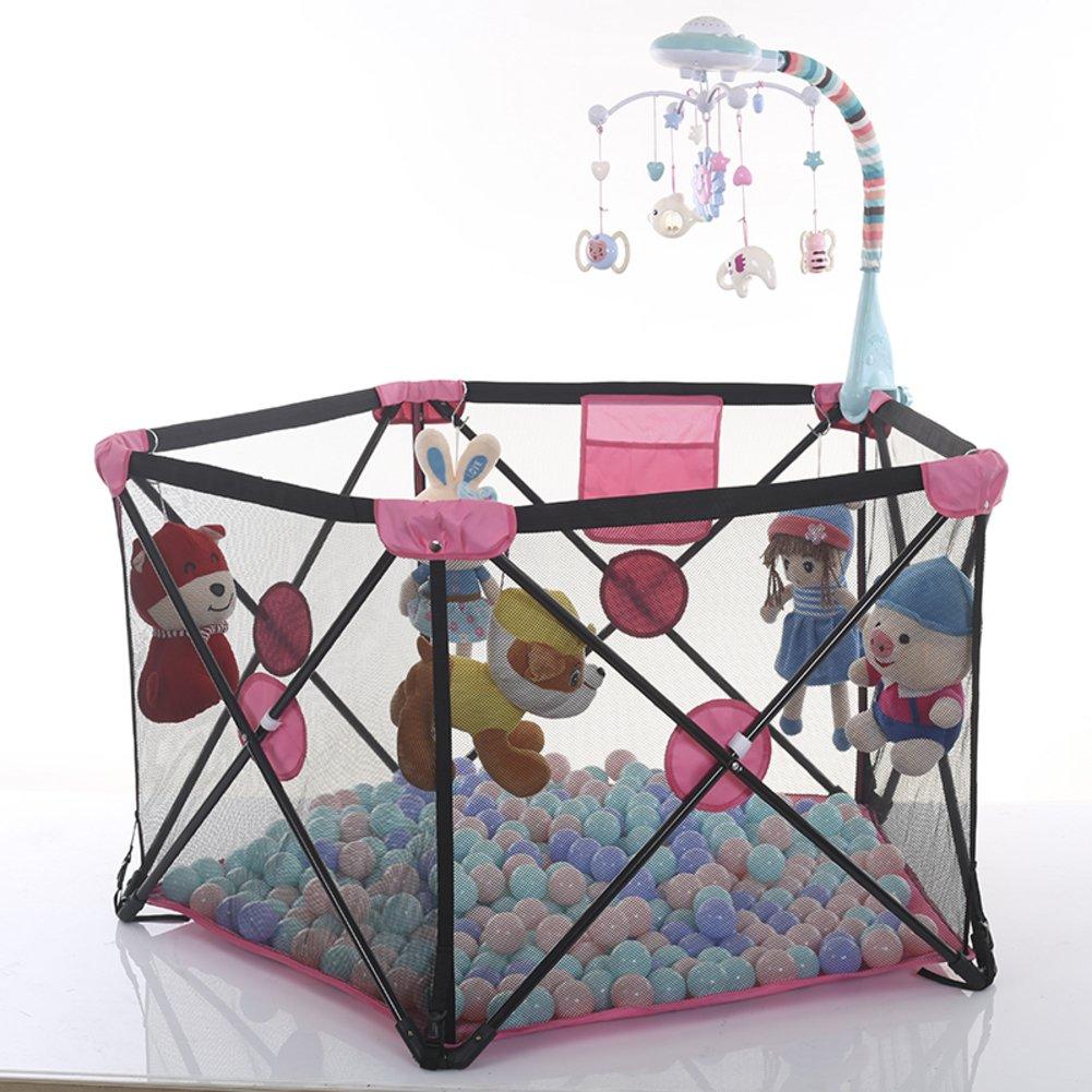 子供のためのベビー サークル,赤ちゃんベビー サークル フェンス安全なクロール ベビー サークル室内フェンスを折り畳み式の家-B B07CVT26Z1 13314  B