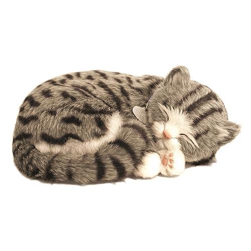 Perfect Petzzz - 4930 - Peluche - Chat Tigre Gris