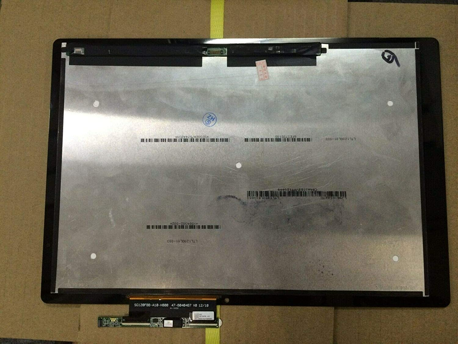 "For Acer 12"" QHD (2160 x 1440) LCD Screen LED Display Panel Touch Digitizer Assembly Touch Switch Alpha 12 N16P3 QHD"