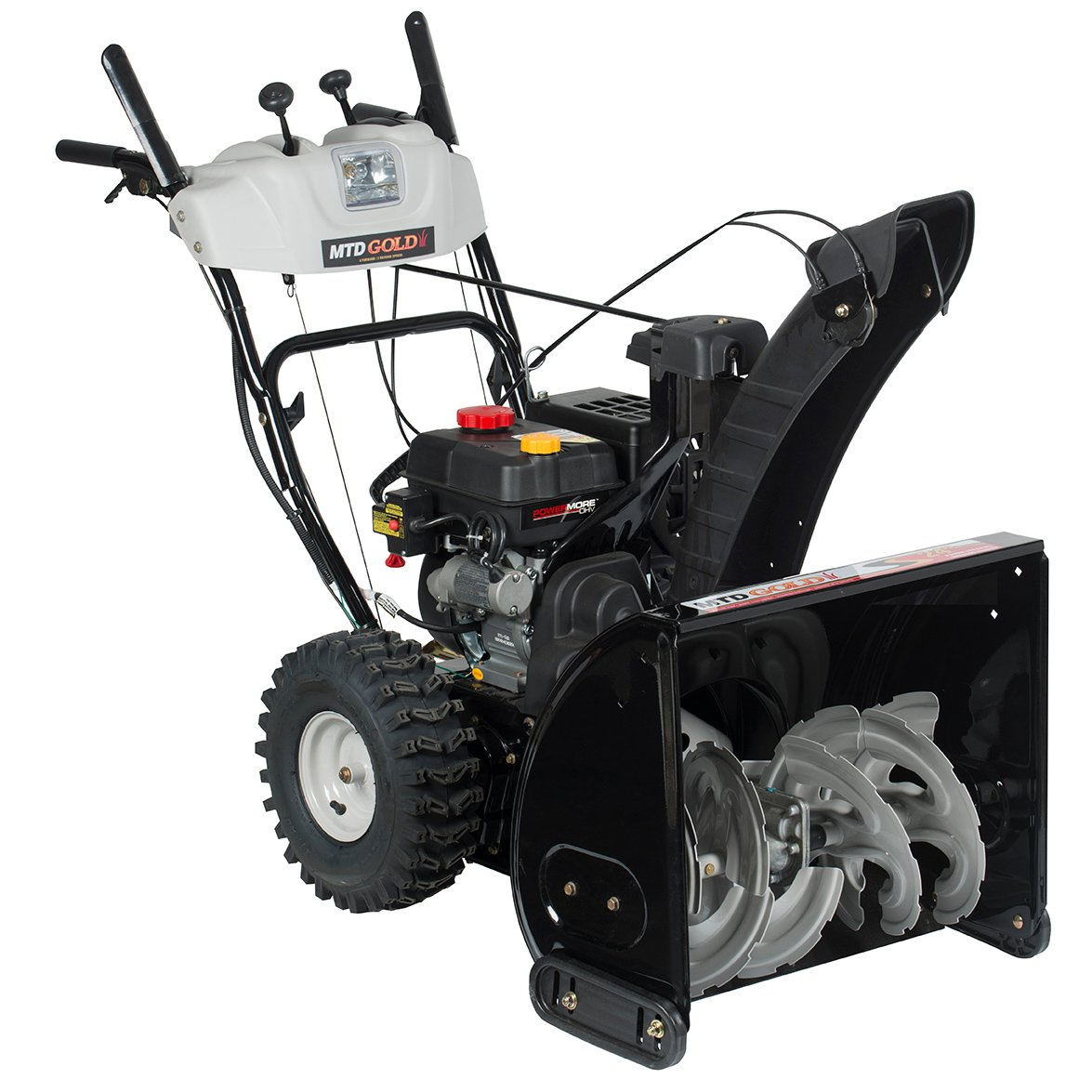 """MTD Gold 24"""" Gas Two-Stage Snow Blower - 208cc PowerMore OHV with Electric Start product image"""