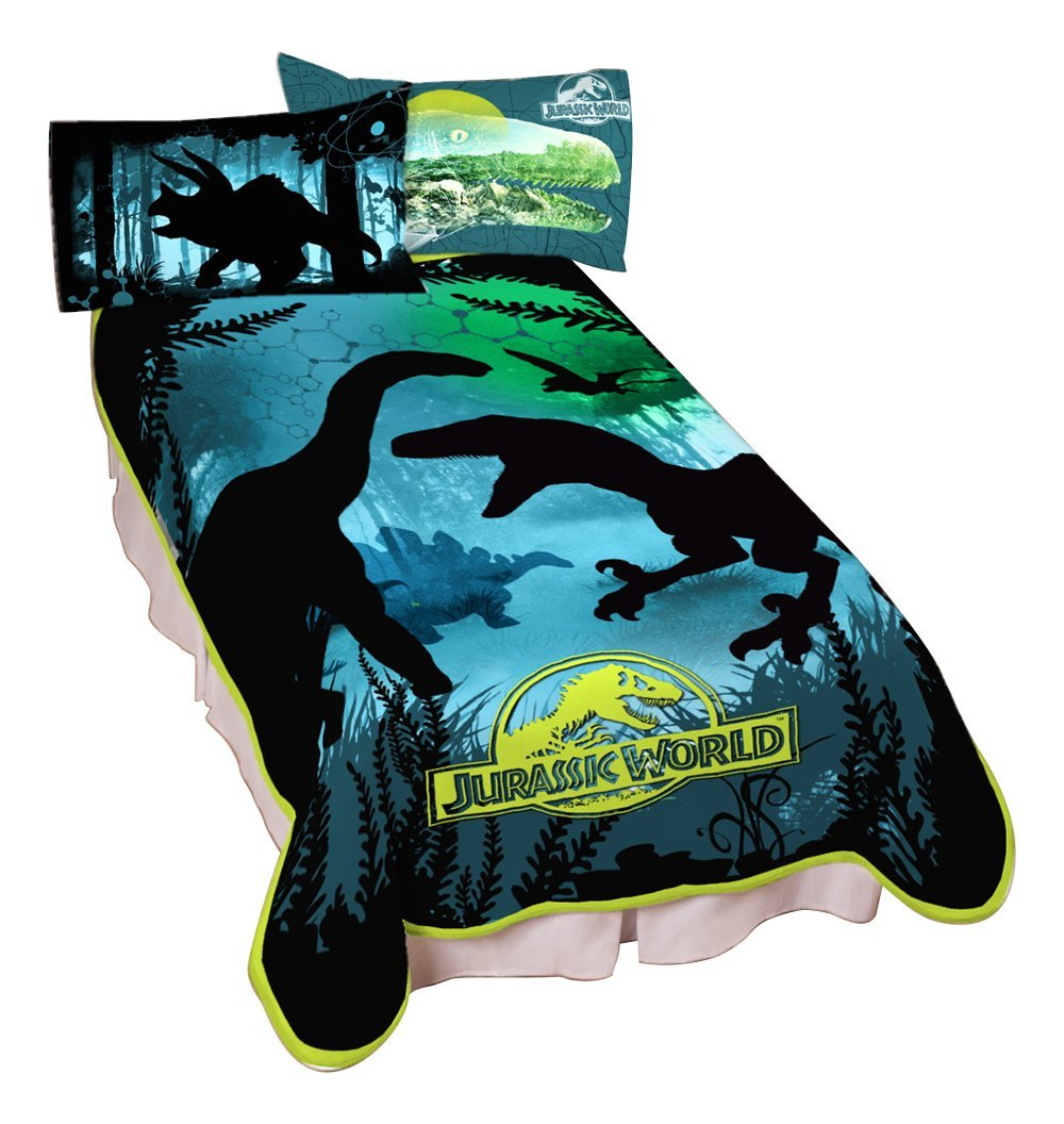 Universal Jurassic World Dino Experience Microraschel Blanket, 62'' x 90'' by Universal