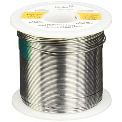 "Kester 24-6337-0027 Solder Roll, Core Size 66, 63/37 Alloy, 0.031"" Diameter: Industrial & Scientific"