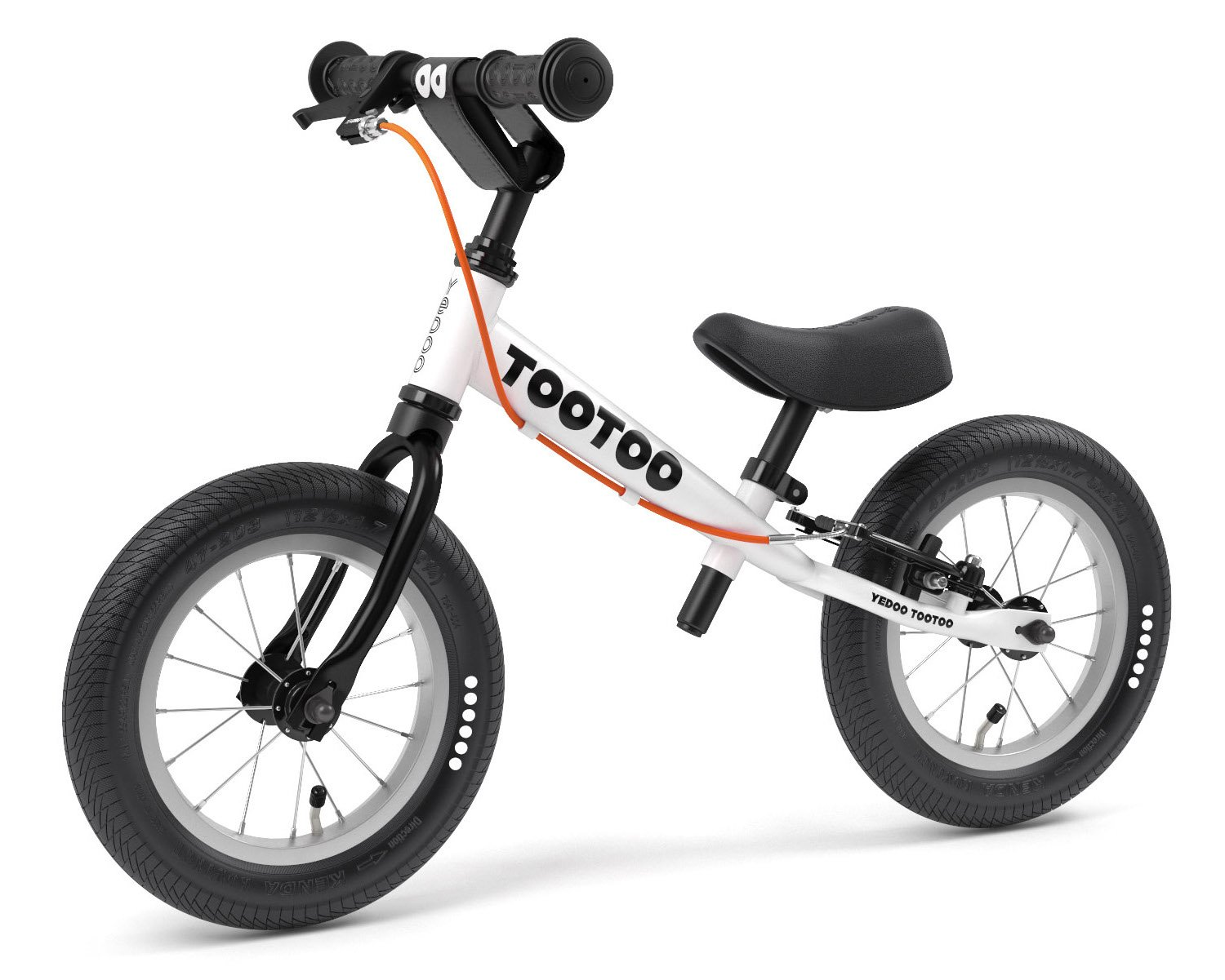 Yedoo TooToo 12'' Balance Bike Age 2-4 (Black White Cookie) 2019 OOPS Collection