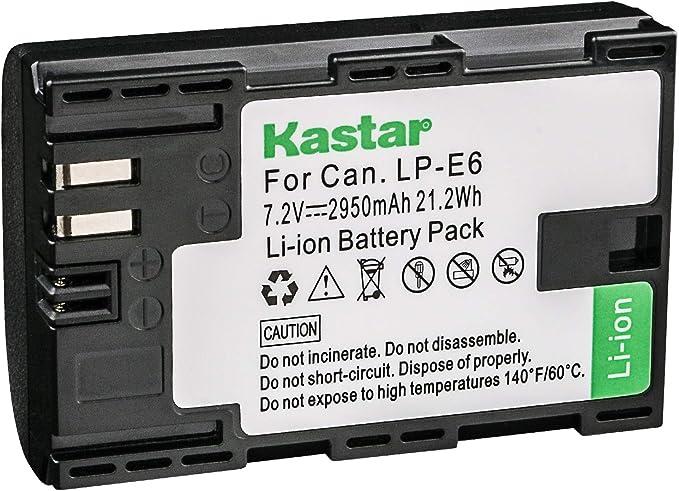 STK LP-E6 Battery for Canon 5D Mark II III and IV 5Ds 6D BG-E11 80D 70D 60D 7D BG-E6 Grips 5Ds BG-E13 BG-E9 BG-E7 5Ds R DSLR Cameras BG-E14