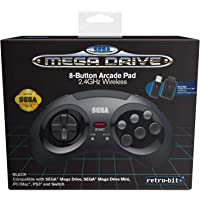Retro - Bit SEGA Saturn USB Pad Gris