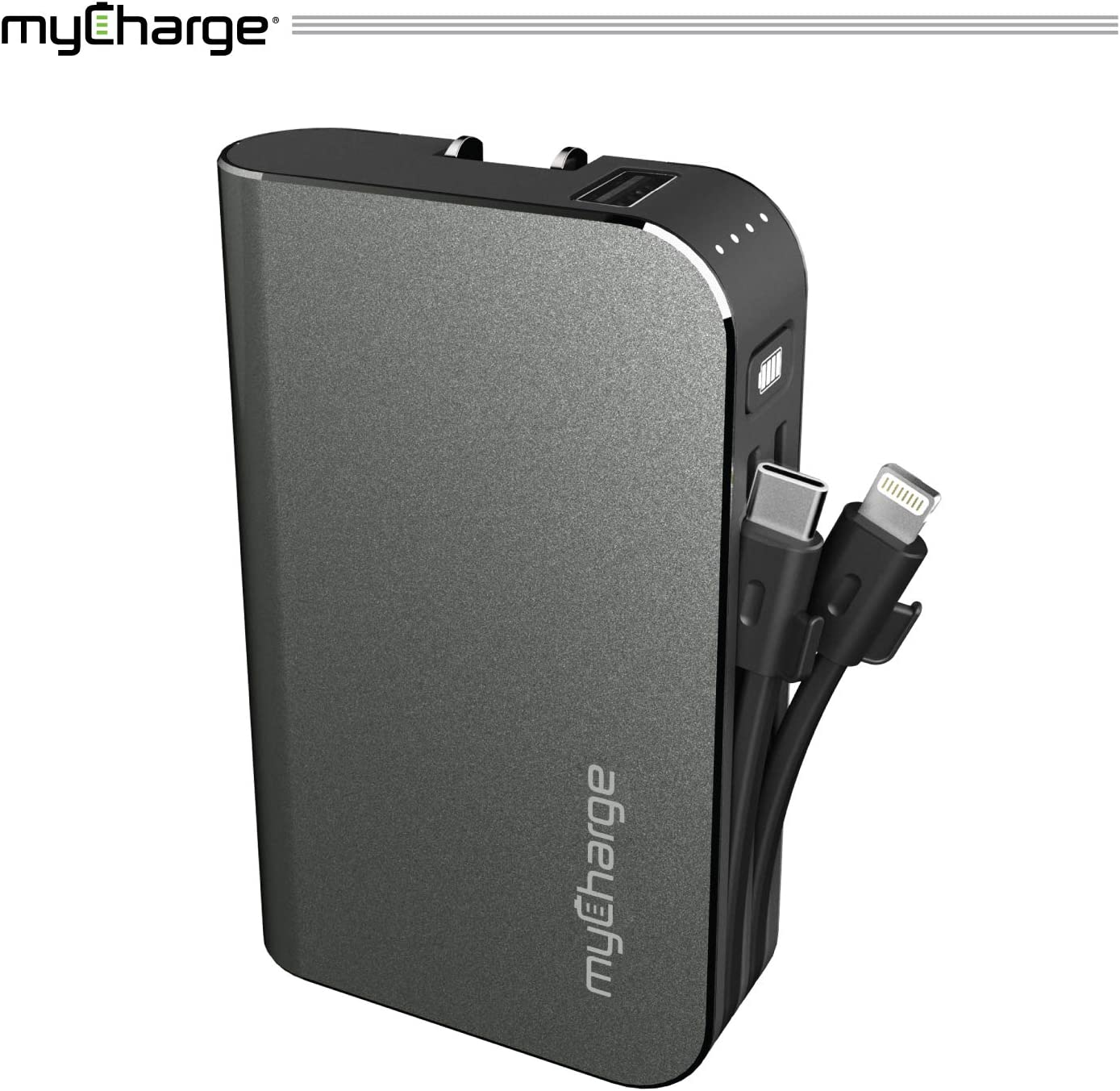 Portable Charger Power Bank - HubPlus 6700 mAh Turbo (PD & QC3.0) External Battery Pack