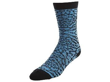 Nike Seasonal Print Crew - Calcetines Línea Michael Jordan Unisex, Color Azul/Negro, Talla XL: Amazon.es: Zapatos y complementos