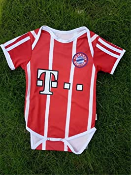 best sneakers 89cd2 7afaf Sybaby Bayern Munich Soccer Jersey Baby Infant and Toddler ...