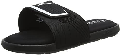 4ada6d056ed1 Puma Unisex Starcat Sfoam Black and White Sneakers - 8 UK India (42 EU
