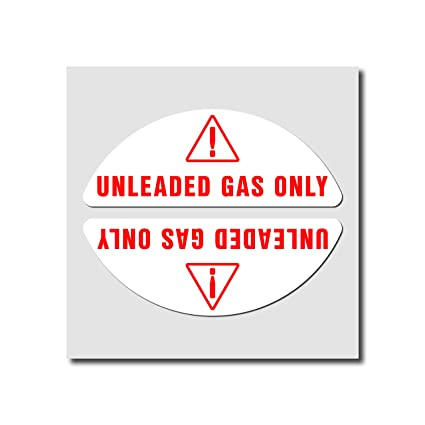 Diesel Fuel Only Vinyl Sticker Fuel Tank Decal Gas Cap Cover Reminder Label 2x