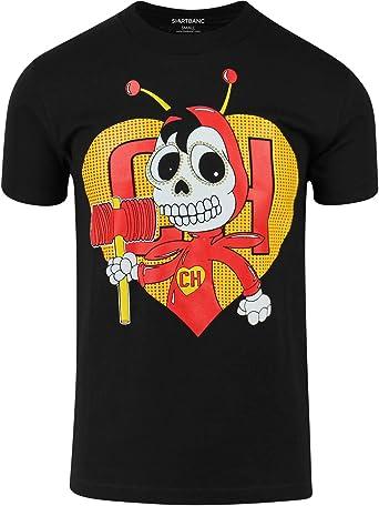 Chespirito Chapulin Colorado - Camisa para hombre - Negro - X-Large: Amazon.es: Ropa y accesorios