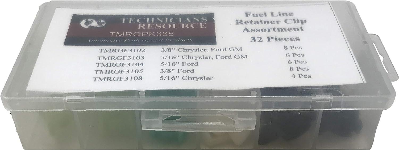 Box of 4 KEM 148-013 Fuel Line Retainer