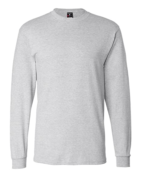 542960b1cfef14 Hanes Adult Beefy-T Long-Sleeve T-Shirt | Amazon.com