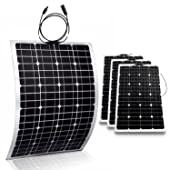 side facing genssi 100w flexible photovoltaic