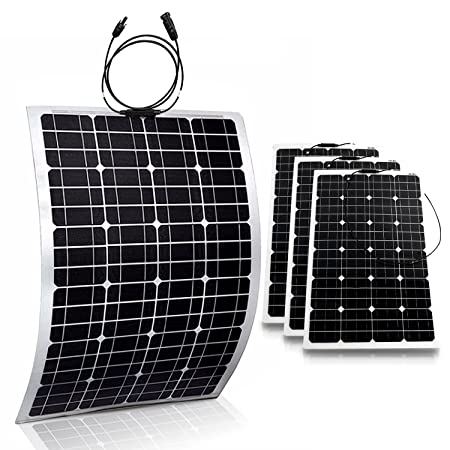 side facing genssi 100w flexible photovoltaic solar panels