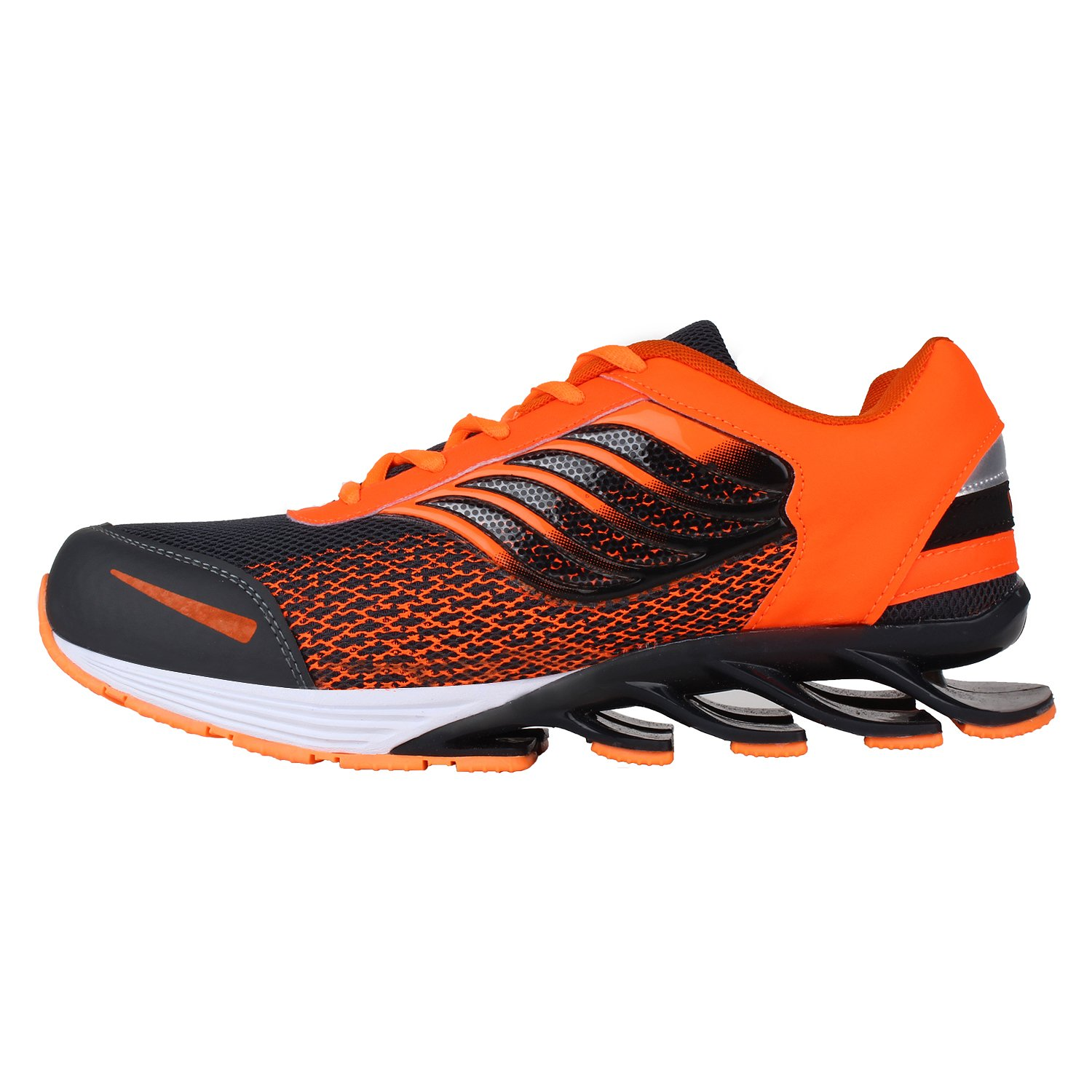 huge selection of 33a78 7484d Earton Men s Orange TPR and Canvas Running Shoes