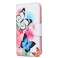 Huawei P20 Lite Case, PU Leather Flip Notebook Wallet Case with Magnetic Closure Stand Card Holder ID Slot Money Pouch Folio TPU Bumper Protective Skin Case Cover for Huawei P20 Lite