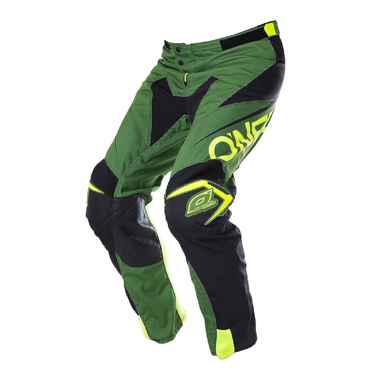 O'Neal Mayhem Lite Hose Blocker Grü n Schwarz MX Motocross Enduro Offroad Quad Pants, 0130A-4, Grö ß e 28/44 Größe 28/44 O`Neal