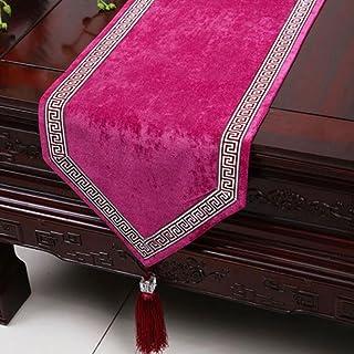 KKY-ENTER a strisce viola Runner Tovaglia Tavolino panno lungo Tovaglia (solo la vendita Runner) 33 * 300 centimetri
