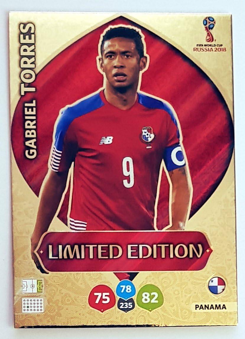 Panama /Édition limit/ée Russie 2018 Coupe du Monde de la Fifa Gabriel Torres Adrenalyn Xl Carte /à /échanger