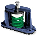 Mason SLFH-A-45 Steel Unhoused Spring Mount Vibration Isolator 45lbs Capacity 1.6 Deflection 28lbs//in Spring Constant Blue