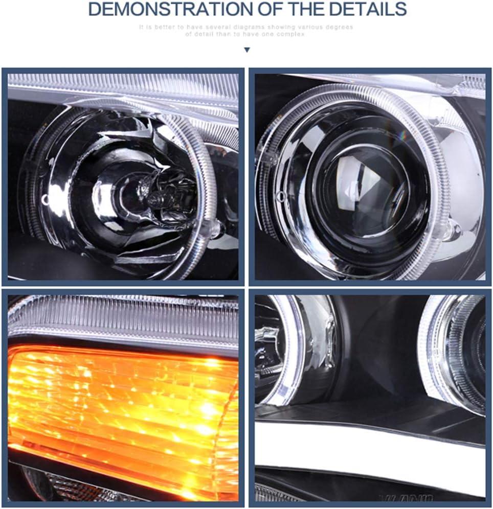 YAA-YS-0162CH Clear  H /& L Beam YUANZHENG Sequential LED Headlights for Mitsubishi Lancer EVO X Sedan 2010-2018