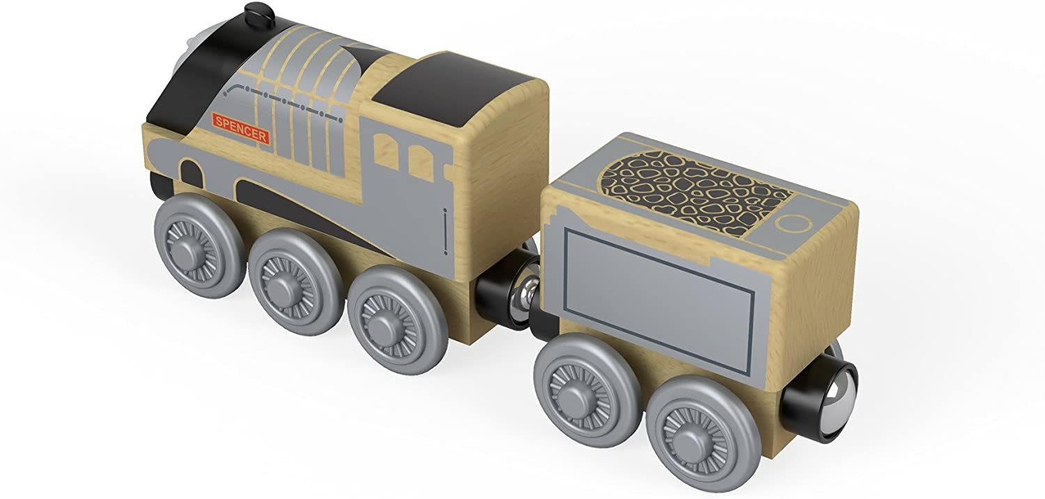 Thomas & Friends FHM42 Wood Spencer, Thomas the Tank Engine Wood Toy Engine, Toy Train, 3 Year Old