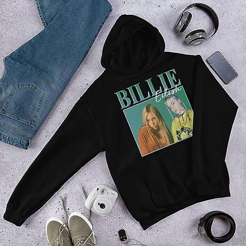 780e1ece Image Unavailable. Image not available for. Color: Billie Eilish 90's  vintage T-Shirt ...