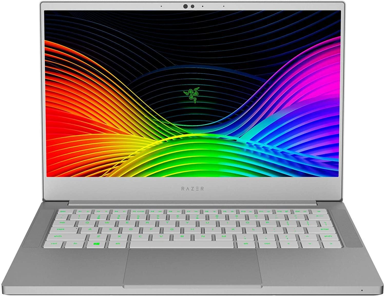 "Razer Blade Stealth 13 Ultrabook Laptop: Intel Core i7-1065G7 4 Core, Intel Iris Plus, 13.3"" FHD 1080p 60Hz, 16GB RAM, 256GB SSD, CNC Aluminum, Chroma RGB, Thunderbolt 3, Mercury White"
