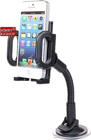 HIMRY Universal Coche Soporte de Parabrisas Ventosa para teléfono ...