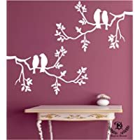 Kayra Decor DIY Reusable Painting Wall Stencil in (16 X 24inches) Plastic Sheet