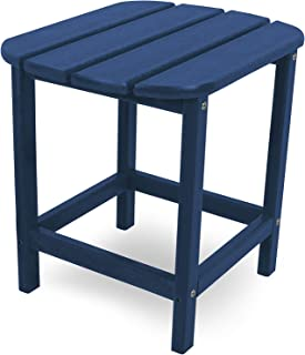 "product image for POLYWOOD South Beach 18"" Side Table in Navy"