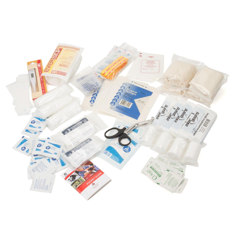 Eco Medix First Aid Kit Emergency Response Bag Fully Stocked (Black) by eco medix (Image #4)