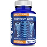 Magnesium 500mg | 90 Tablets | Supports Muscle & Bone Health | 3 Months Supply | Vegan and Vegetarian Formula
