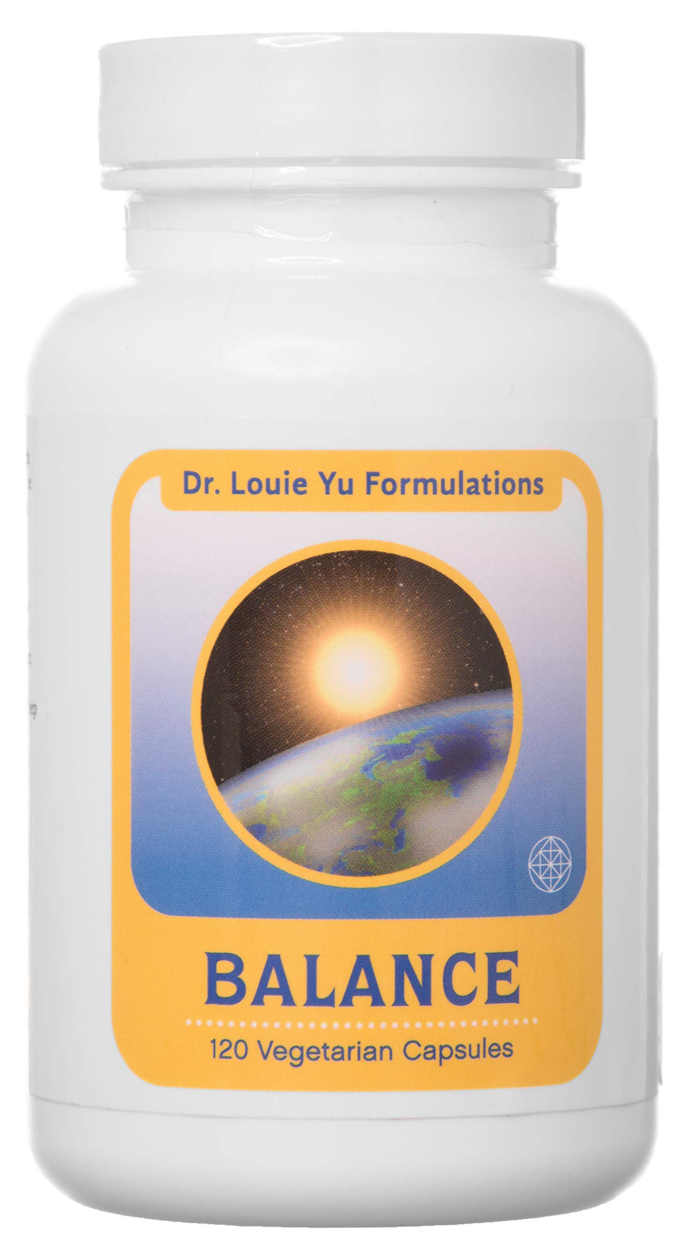 Dr. Louie Yu Formulations Balance All-Natural Relief for Symptoms of Irritable Bowel Syndrome (IBS) Including Bloating, Constipation, Gas, Diarrhea | Supports Digestive Health | 120 Veg Capsules by  Dr. Louie Yu Formulations