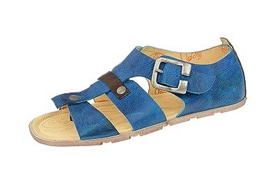 Eject Damen Zehentrenner Sandale FLYING 17599 Blau, EU 42